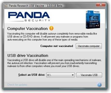 panda Antivirus para USB