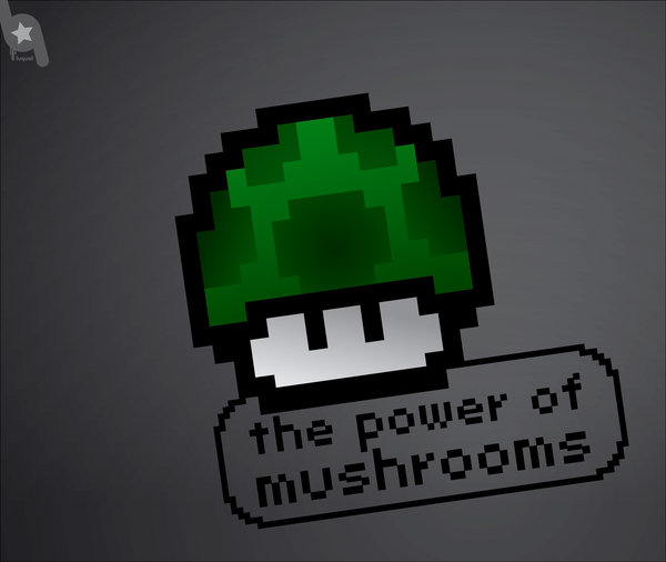the_power_of_mushrooms_by_Luquet