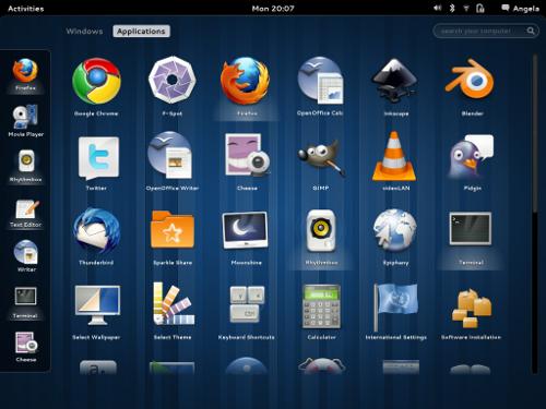 aplicaciones-gnome-3
