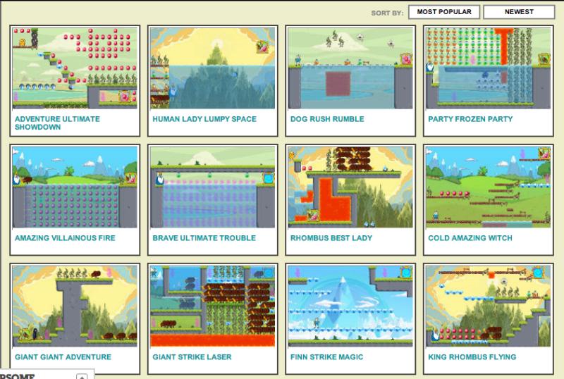 adventure-time-game-creator